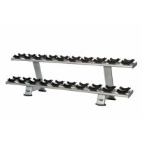 INOTEC E34, Two Tier Dumbbell Rack