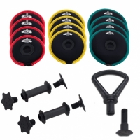 SoftBell Dumbbell Kettlebell Combo Light